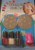 DIY Nail Art Stamping Set Starter Nail Art Kit 7 Items + Bonus