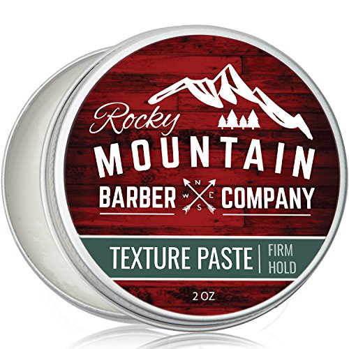 Hair Paste For Men – Hair Styling Cream With Pliable Light-Firm Hold For All Hair Styles, Shine-Free Matte...