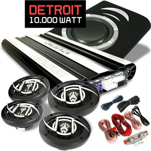 Car-Hifi-Set-Detroit-extremes-41-System-Vollverstrker-Lautsprecherset-10000-Watt