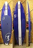"""Dewey Weber(デューイ・ウェーバー)STRATO モデル BIARDWORKS スタンドアップパドルボード[BLUE/WHITE] 9'6"""" FIN付き SUP(og2677)"""
