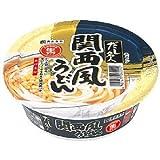 (お徳用ボックス)カップだし名人 関西風うどん 132g*12食