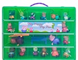 Peppa Pig Tm Compatible Organizer My Peppa Pig Pen Is The Perfect Peppa Pig Tm Compatible Storage Box Stores Up To 30 Peppa Pig Toys Large Sturdy Case And Carrying Handle (Lime)