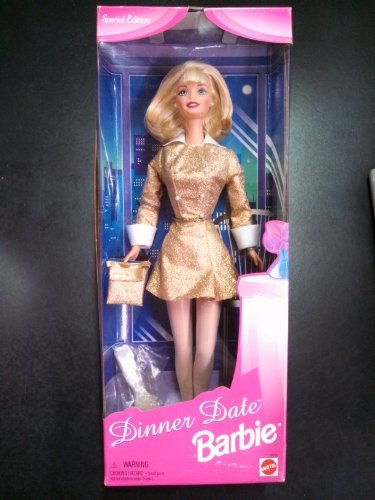 Special Edition Dinner Date Barbie Blonde Hair - 1