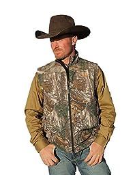 Cinch Men\'s Realtree Xtra Camo Bonded Vest Multi Large