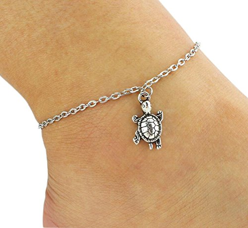 hosaire-1x-multi-pattern-cute-animal-turtle-wedding-sandal-beach-anklet-chain-foot-jewelry