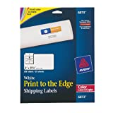 Avery Print-To-The-Edge Labels for Laser Printers, 2 x 3.75 Inches,  200 Labels per Pack  (6873)