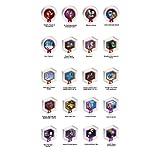 Disney Infinity - Series 2 Power Discs - Complete Set with Album Case