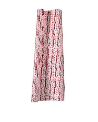Mara-Mi Cable Knit Gift Wrap, Red/White