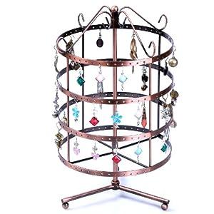 Songmics 3 Farbe Neu Schmuckständer Schmuckhalter Ohrringhalter 35x20cm Armbandständer Kupfer JDS012