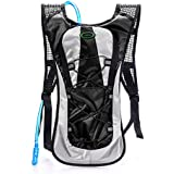 Hydration Backpack--Juboury Water Rucksack Bladder Bag for Running Hiking Cycling and Any Other Outdoor Sports with Free 2L TPU Hydration Bladder