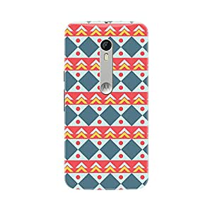 Fusion Gear Geometric Back Case for Moto X Style