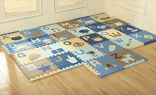 26tlg cute cartoon letters baby puzzle matte kinder kriechen umwelt eva schaum puzzle matten. Black Bedroom Furniture Sets. Home Design Ideas