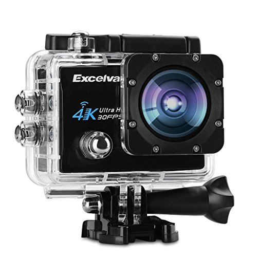 "Buono regalo In Offerta ! Excelvan Q8 - Action Cam WiFi 4K 30FPS FHD 1080P 170 ° Grandangolare 2.0"" Schermo LCD Impermeabile Sports Camera Fotocamera Videocamera Digitale Cam Video Car DVR"