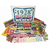 1928 88th Birthday Gift Basket Box Retro Nostalgic Candy From Childhood