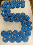 24 Disney Frozen Cupcake Rings & 24 Baking Cups