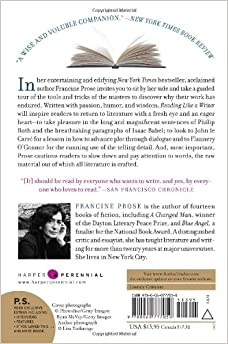 reading like a writer francine prose free pdf