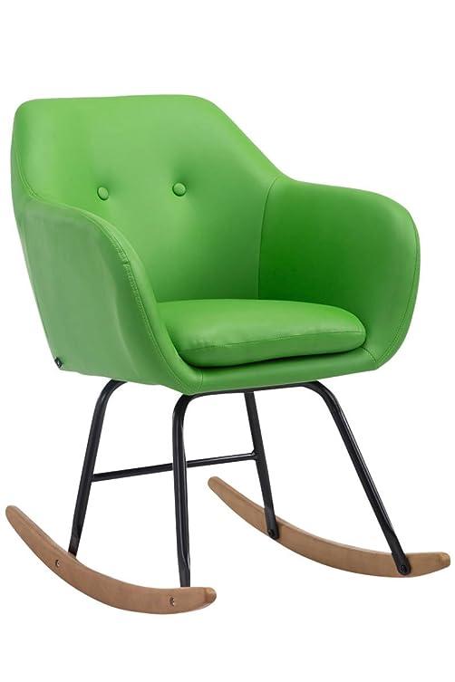 Sedia a dondolo avalon verde