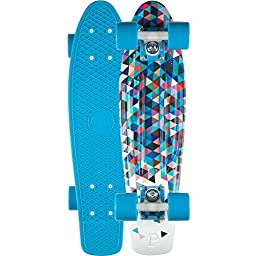 Penny Carlton 22\' Skateboard Penny Board Complete - Blue
