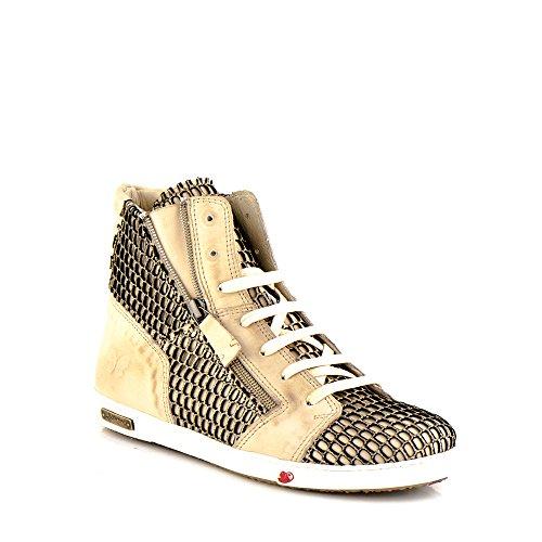 Felmini - Scarpe Donna - Innamorarsi com Jomar A217 - Sneakers - Pelle Genuina - Multicolore - 36 EU Size