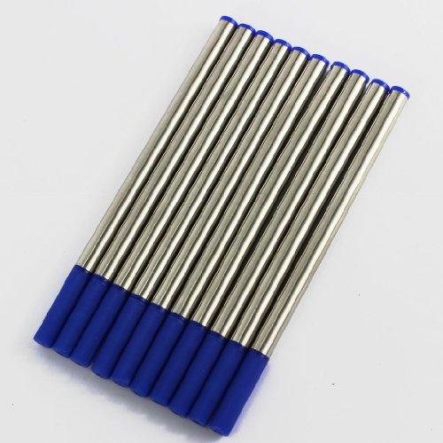Gullor Gros importé encre Stylo recharge 10 recharges stylo à encre bleu recharges