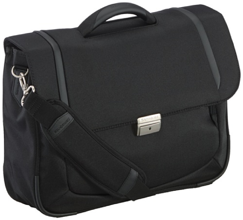 "Samsonite Cartella X'blade Business 2.0 Briefcase 1 Gusset 16"" 15 liters Nero (Black) 57810-1041"