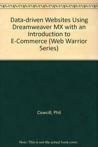 Application Development with Macromedia Dreamweaver MX 2004 Using ASP.NET
