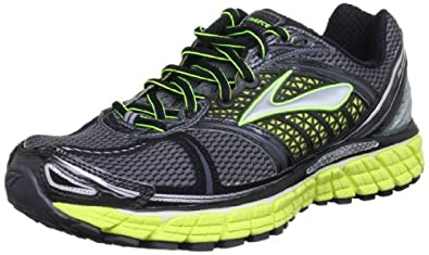 Brooks Mens Trance 12 Running Shoes Color: Wht/Slvr/Shadow/Blck/SlphSprng Size: 7.5