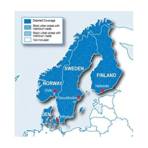 Garmin City Navigator Nordics For Detailed Maps Of Denmark Finland Norway And Sweden Microsd/sd Card