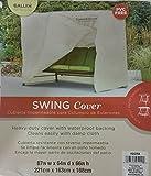 Outdoor Patio Swing Cover (1, Tan)