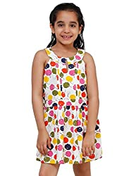 Oxolloxo Girls A-line cotton dress