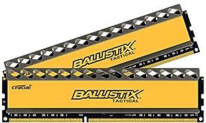 Crucial Ballistix Tactical Arbeitsspeicher 8GB (1866MHz, CL9, 2x 4GB) DDR3-RAM Kit