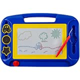 Kidsthrill® Doodle Magnetic Drawing Board - Colorful Kids Writing Sketching Pad - Assorted Colors
