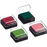 Folia 30171 - Variostempelkissen Set II 4 Stück, 34 x 34 mm, farbig Sortiert