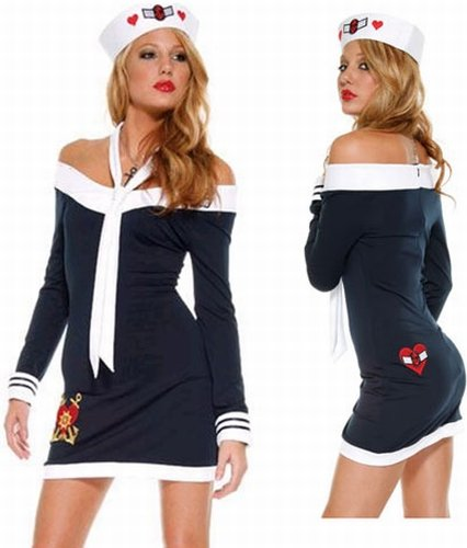 Sailor Dress Sexy Costume