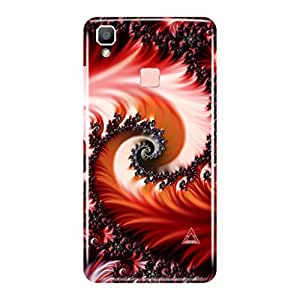 a AND b Designer Printed Mobile Back Cover / Back Case Cover For Vivo V3