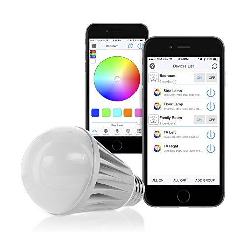 Flux Bluetooth Smart Led Light Bulb Smartphone