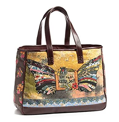 Kelly Rae Roberts Unleash Your Joy Structured Tote