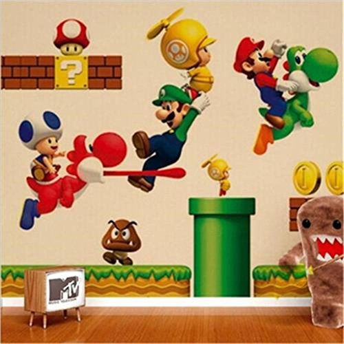XINW Colorful Wall Stickers Removable Kids Boys Nursery Play Room Decor