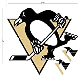 Pittsburgh Penguins NHL Licensed Wall Decal at Amazon.com