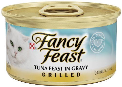 Fancy Feast Grilled Tuna Feast In Gravy