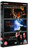 Sorority Row/Last House On The Left/I Still Know What You Did Last Summer [DVD]
