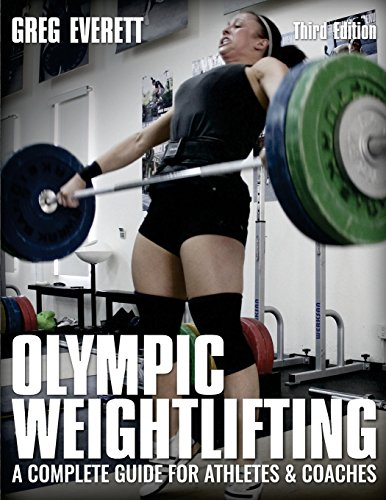 "These days Olympic lifting isn't just popular with a few die-hard fans, it's popular in gyms across the country. Loads of people have started taking it up, and attend coaching sessions. A load more people have tried to learn about it on their own.  Whether you are trained by a professional, or are trying to pick it up on your own Greg Everett's book ""Olympic Weightlifting: A complete guide for athletes and coaches"" is a must have!  This book gives you everything, from gym etiquette to correct technique in a variety of exercises. If you're into Olympic lifting, or have started crossfit then this book will be especially useful.  Greg also has a website where you can see videos of him demonstrating the techniques he talks about. Combining the two will really help you to get the most out of the book"