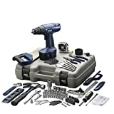 Allied 39025 14.4-Volt Ni-Cad 3/8-Inch Cordless Drill Kit with 178-Piece Accessories