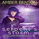 Serpent's Storm Audiobook by Amber Benson Narrated by Amber Benson