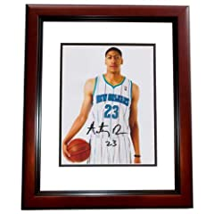 Anthony Davis Autographed Hand Signed New Orleans Hornets 8x10 Photo MAHOGANY CUSTOM...