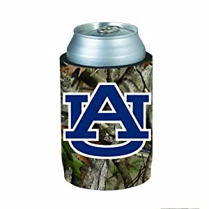 Auburn Tigers 3-Pack Camouflage Neoprene Can Huggie koozie with Bottom Featuring the... by Judson