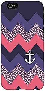 Snoogg awesome chevron Hard Back Case Cover Shield For Apple Iphone 6 S + / 6s Plus
