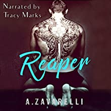 Reaper: Boston Underworld, Book 2 Audiobook by Ashleigh Zavarelli Narrated by Tracy Marks