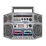 Beistle Boom Box Stand-Up, 3-Feet 10-Inch by 25-Inch, Multicolor