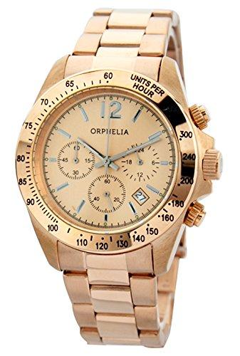 Orphelia - OR22990077 - Montre Mixte - Quartz - Chronographe - Bracelet Acier inoxydable Or et Rose